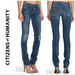 Citizens of Humanity Ava Straight Long Jeans 2 26